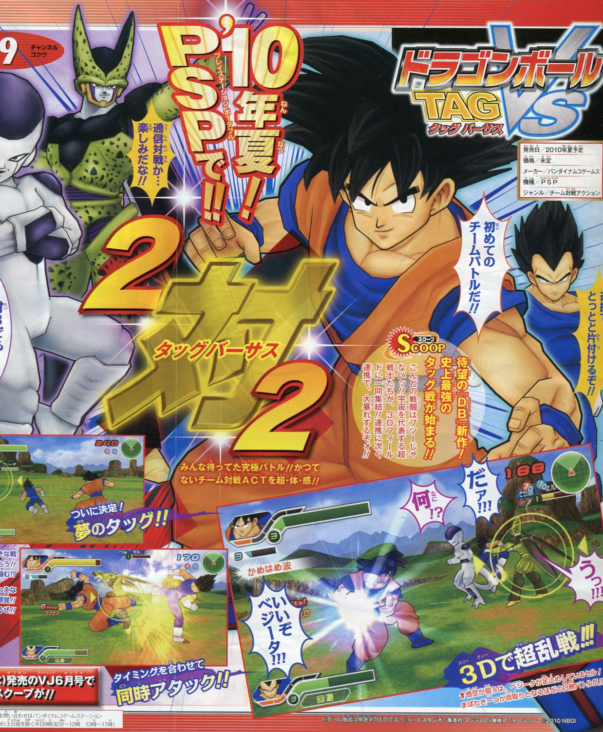 Dragon Ball Tag VS