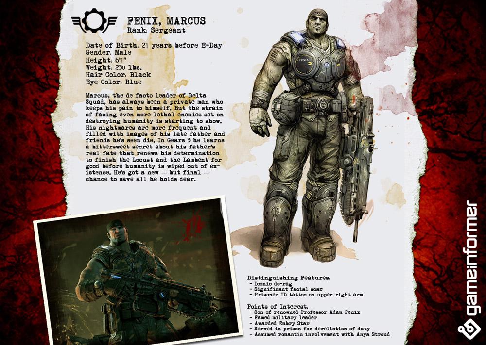 Gears of war персонажи 8
