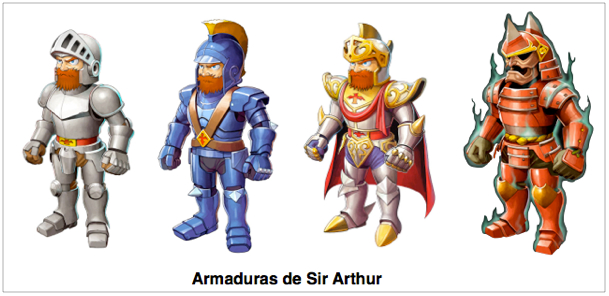 ARMADURAS SIR ARTHUR