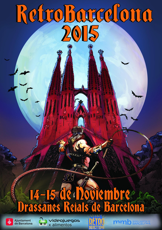 Cartell Promocional Retrobarcelona 2015