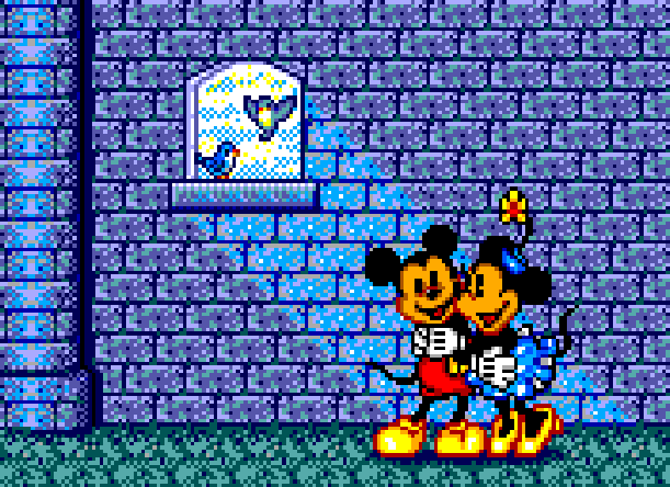 Castle-Of-Illusion-Starring-Mickey-Minnie-Mouse-Sega-Master-System-MS-Game-Gear-GG-Disney-1990-Pixel-Art-Xtreme-Retro